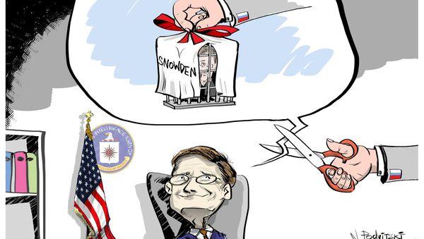 Edward Snowden consegnato alla CIA - Sputnik Italia