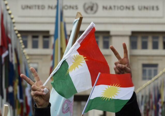 Bandiere del Kurdistan