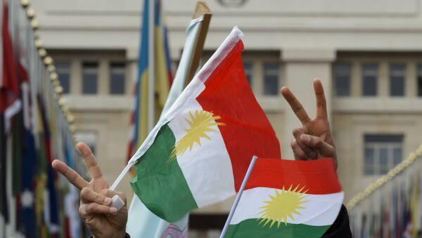 Flags of Kurdistan. (File) - Sputnik Italia