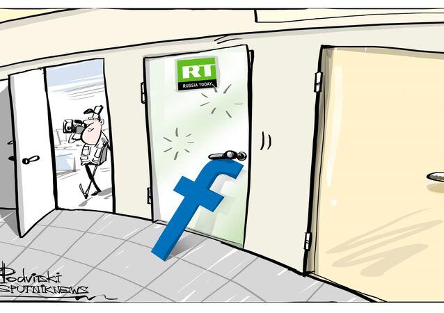 Russia Today bloccata da Facebook