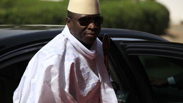 Gambia's President Yahya Jammeh - Sputnik Italia