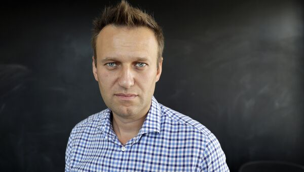 In this photo taken on Thursday, Sept. 1, 2016, Russian opposition activist Alexei Navalny speaks during an interview to the Associated Press in Moscow, Russia - Sputnik Italia