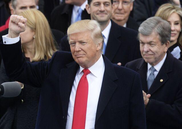 La cerimonia di insediamento di Donald Trump