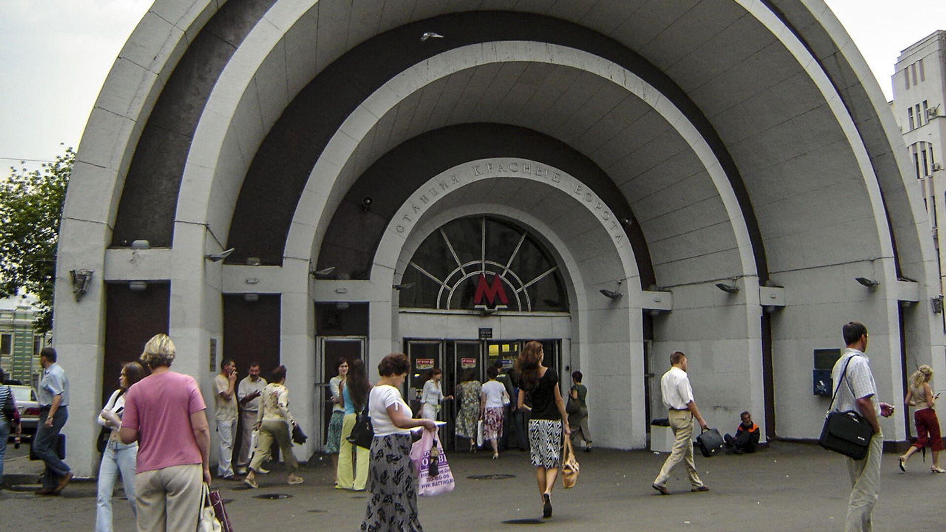 La stazione di Krasnye Vorota della metro di Mosca. - Sputnik Italia, 1920, 29.05.2021