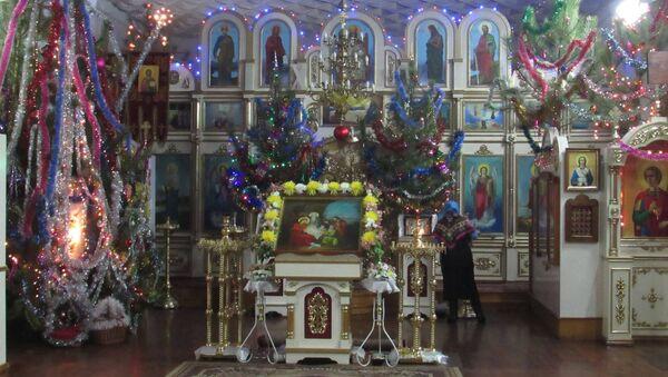 La parrocchia di Snezhnoe, città della Repubblica Popolare di Donetsk - Sputnik Italia