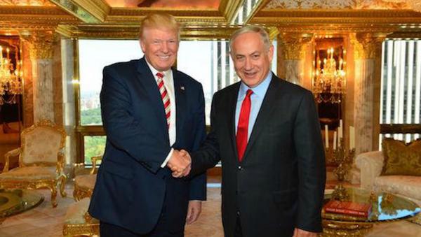 Trump e il premier dell'Israele Netanyahu in Trump Tower - Sputnik Italia