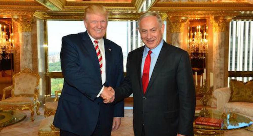 Trump e il premier dell'Israele Netanyahu (foto d'archivio)