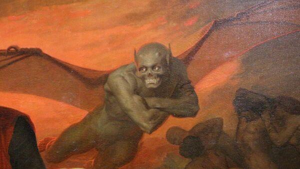 Il Diavolo della Divina Commedia illustrata da William Bouguereau - Sputnik Italia