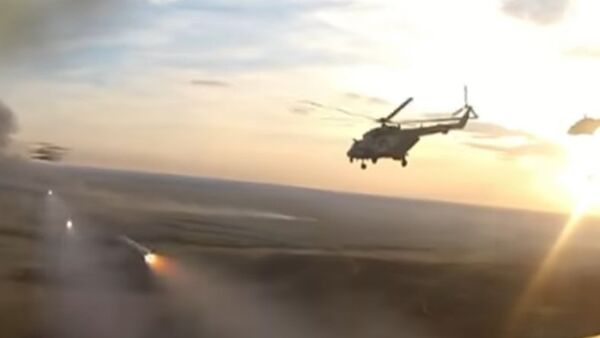 Esercitazioni elicotteri russi - Sputnik Italia