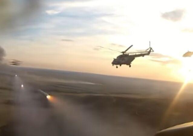 Esercitazioni elicotteri russi