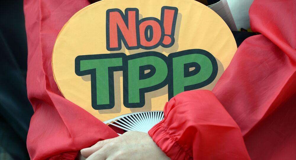 Proteste contro l'accordo TPP