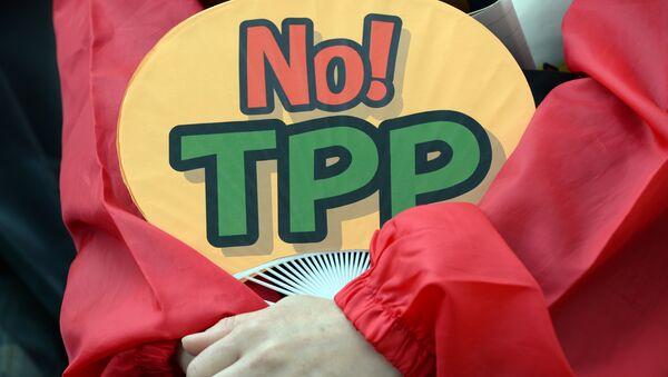 Proteste contro l'accordo TPP - Sputnik Italia