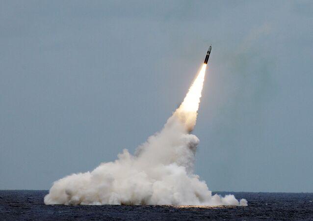 Lancio del missile Trident II (foto d'archivio)