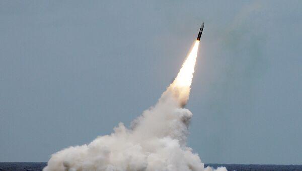 Lancio del missile Trident II - Sputnik Italia