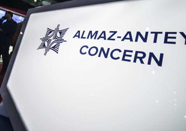 Logo della società russa Almaz-Antey