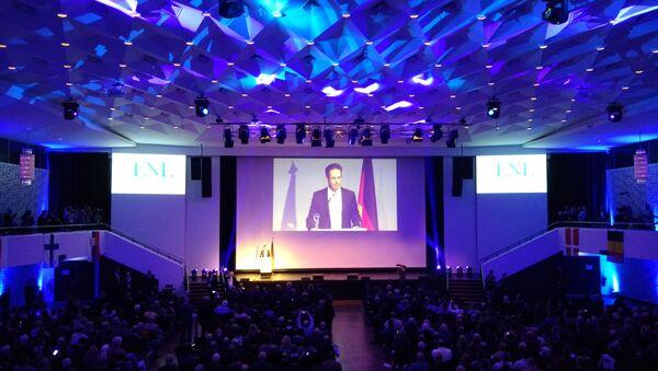 Der nordrhein-westfälische AfD-Chef Marcus Pretzell bei dem ENF-Kongress am 21. Januar 2017 in Koblenz - Sputnik Italia