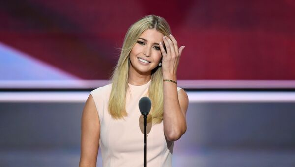 Republican presidential candidate Donald Trump's daughter Ivanka addresses delegates on the final night of the Republican National Convention, 2016 - Sputnik Italia