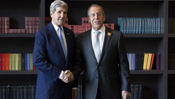 John Kerry e Sergey Lavrov a Sochi - Sputnik Italia