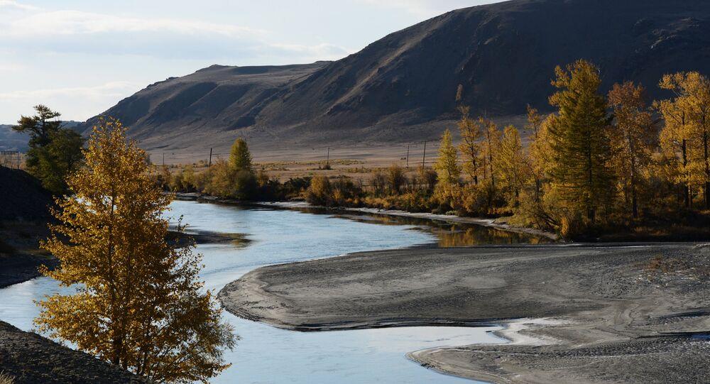 Un paesaggio dell'Altay, dov'è stata inventata una nuova varietà di mascarpone.