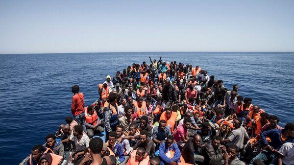 immigrati costa libica - Sputnik Italia