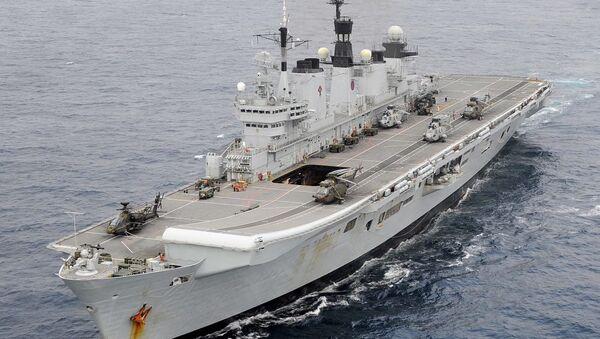 Nave della Marina britannica (foto d'archivio) - Sputnik Italia