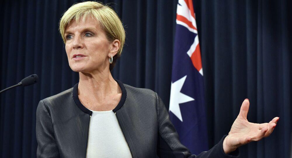 Ministro degli Esteri australiano, Julie Bishop