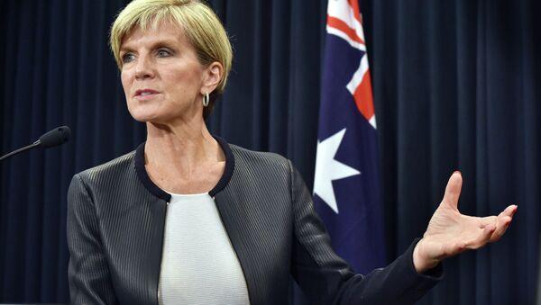 Ministro degli Esteri australiano, Julie Bishop - Sputnik Italia