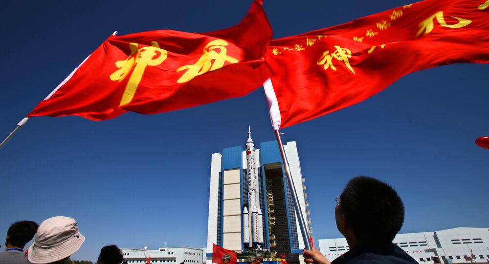 Jiuquan Satellite Launch Centre in northwest China's Gansu province