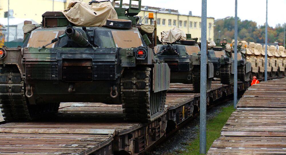 M1A2 Abrams in trasferimento