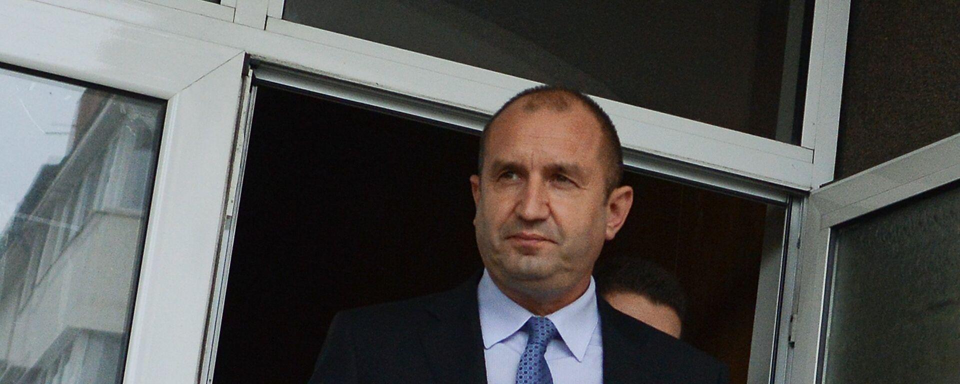 Il Presidente bulgaro Rumen Radev - Sputnik Italia, 1920, 31.05.2021