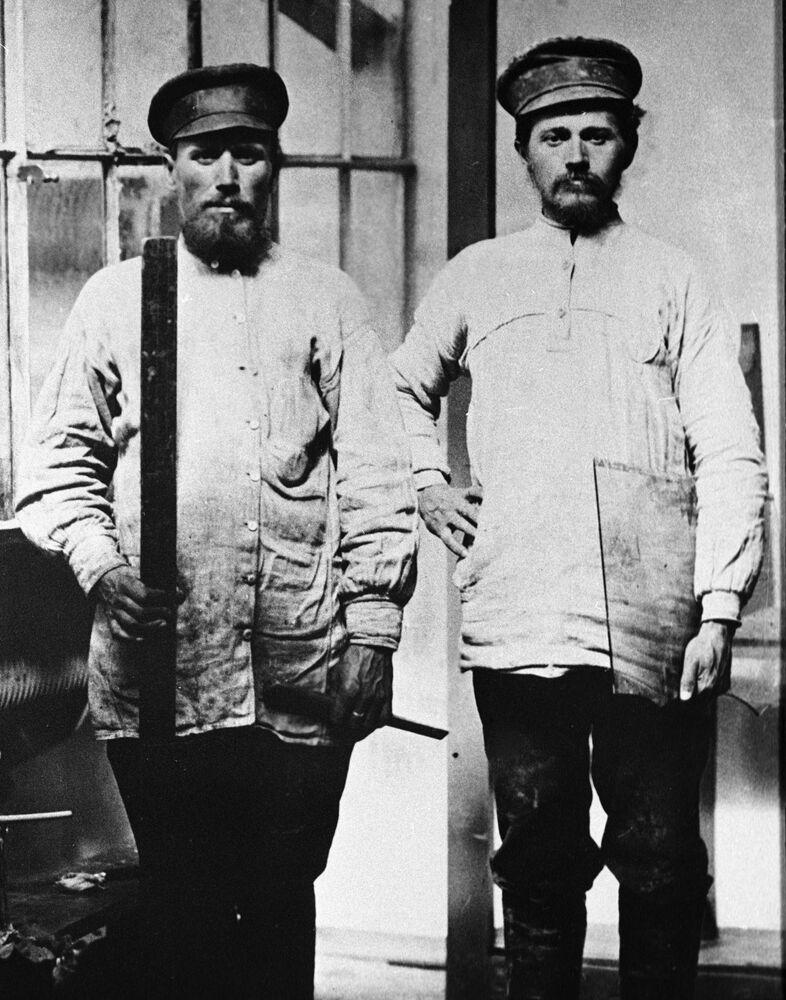 I lavori della Russia ante rivoluzionaria