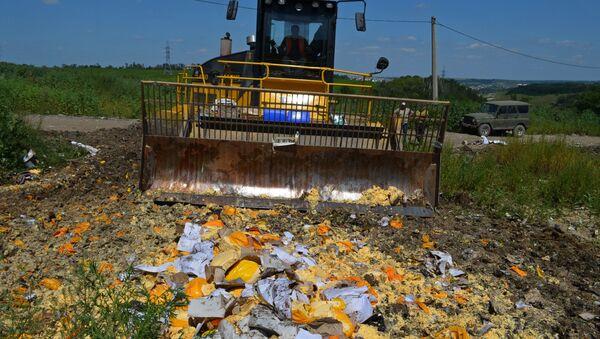 Distruzione di formaggi sotto embargo - Sputnik Italia