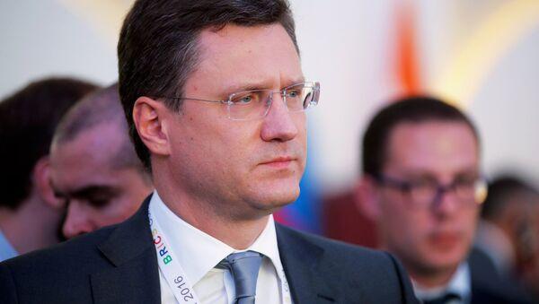 Il ministro dell'Energia russo Alexander Novak - Sputnik Italia