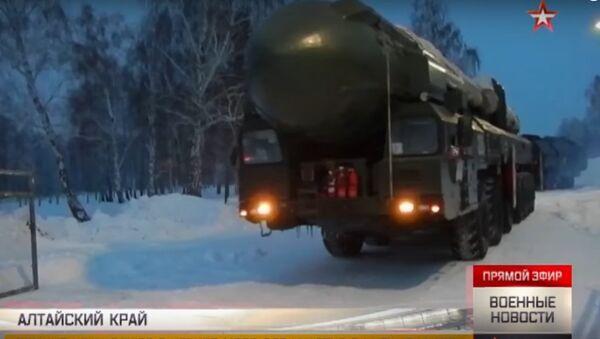Nuove manovre dei Topol nell'Altay - Sputnik Italia