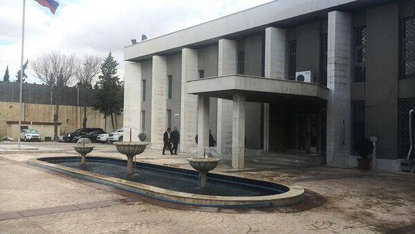 Ambasciata russa a Damasco - Sputnik Italia