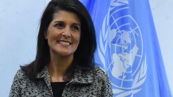 Rappresentante permanente USA all'ONU Nikki Haley - Sputnik Italia