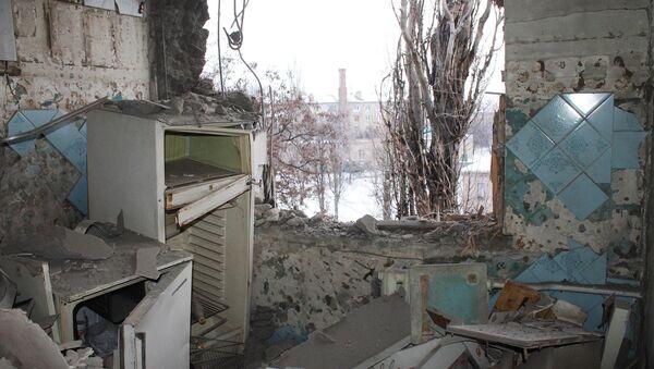 Donetsk after shelling - Sputnik Italia