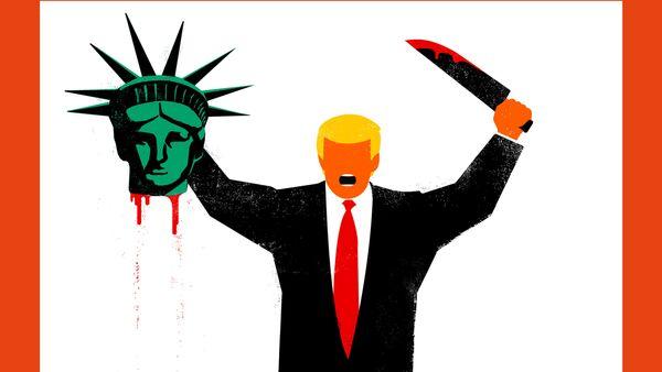 Donald Trump decapita la Statua della Libertà, Spiegel - Sputnik Italia