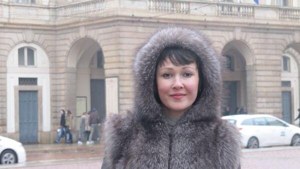 Anna Tuv a Milano - Sputnik Italia
