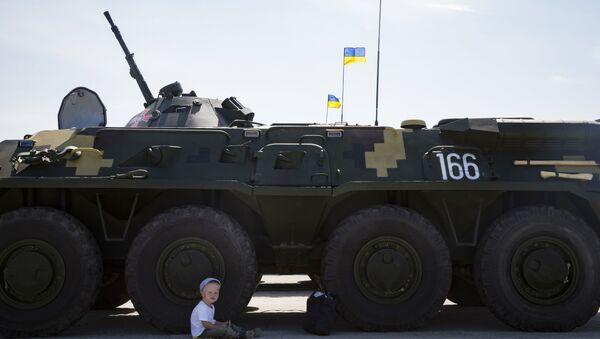 Blindato dell'esercito ucraino - Sputnik Italia
