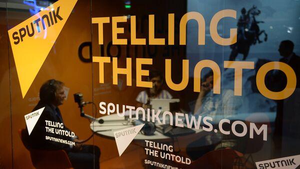 Radio Sputnik studio - Sputnik Italia