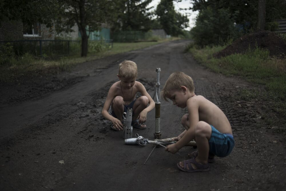 La situazione a Gorlovka.