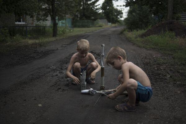 La situazione a Gorlovka. - Sputnik Italia