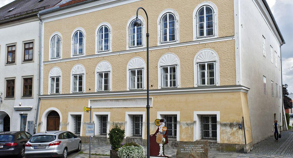 Braunau, casa in cui è nato Adolf Hitler