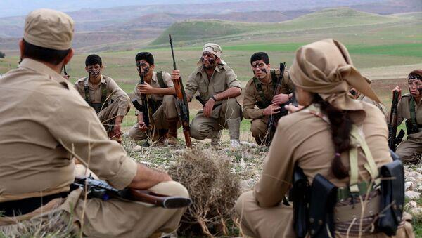 Peshmerga curdi in Iran - Sputnik Italia