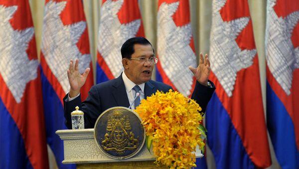 Il premier della Cambogia Hun Sen - Sputnik Italia