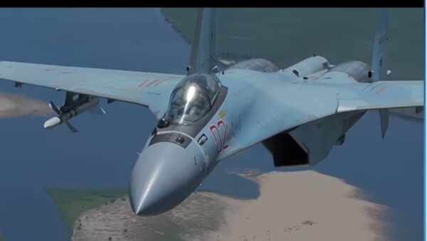 caccia Sukhoi SU-35 - Sputnik Italia