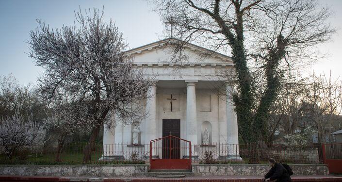 La chiesa cattolica di Santa Maria Assunta a Kerch