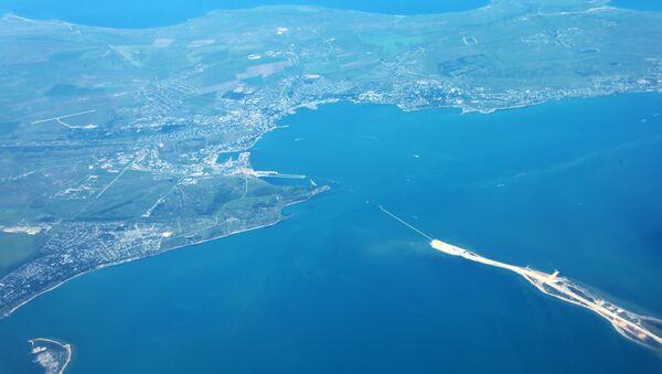 Una veduta di Kerch dall'alto - Sputnik Italia