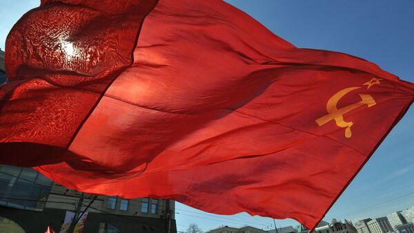 Flag of the Union of Soviet Socialist Republics. (File) - Sputnik Italia